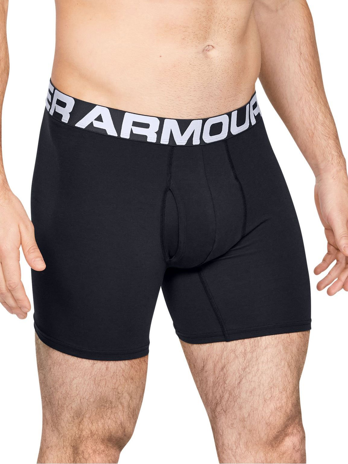 Sorturi Under Armour Charged Cotton 6in 3 Pack