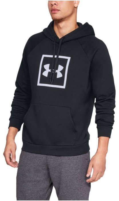 Hanorac cu gluga Under Armour RIVAL FLEECE LOGO HOODIE